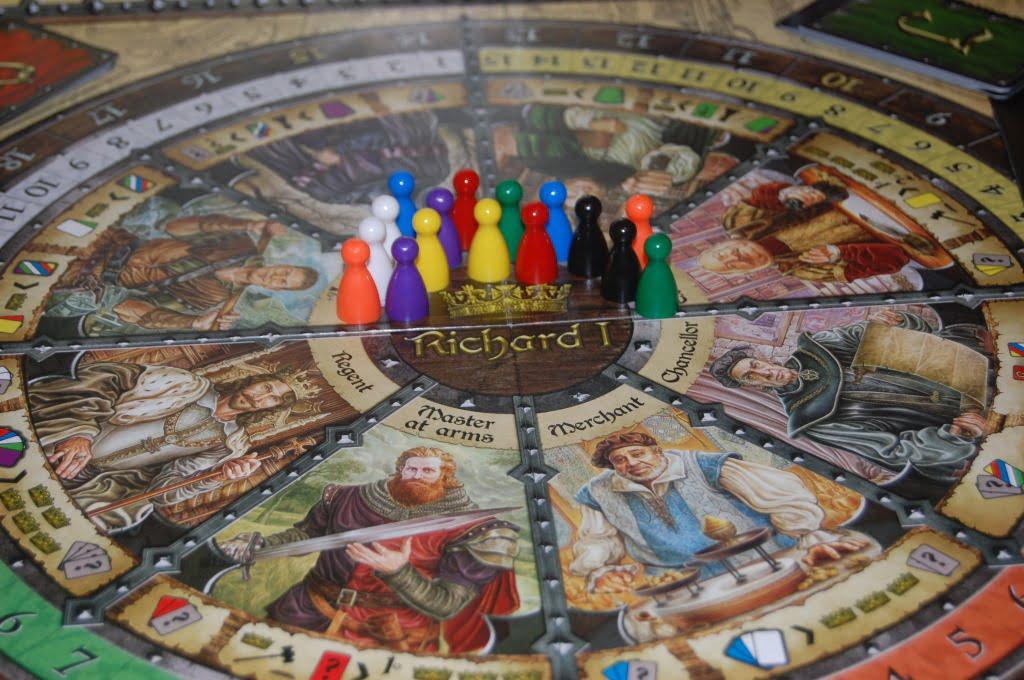 Richard I è un ottimo gioco, ma per gli amici più esigente tenete pronto Battlestar Galactica!