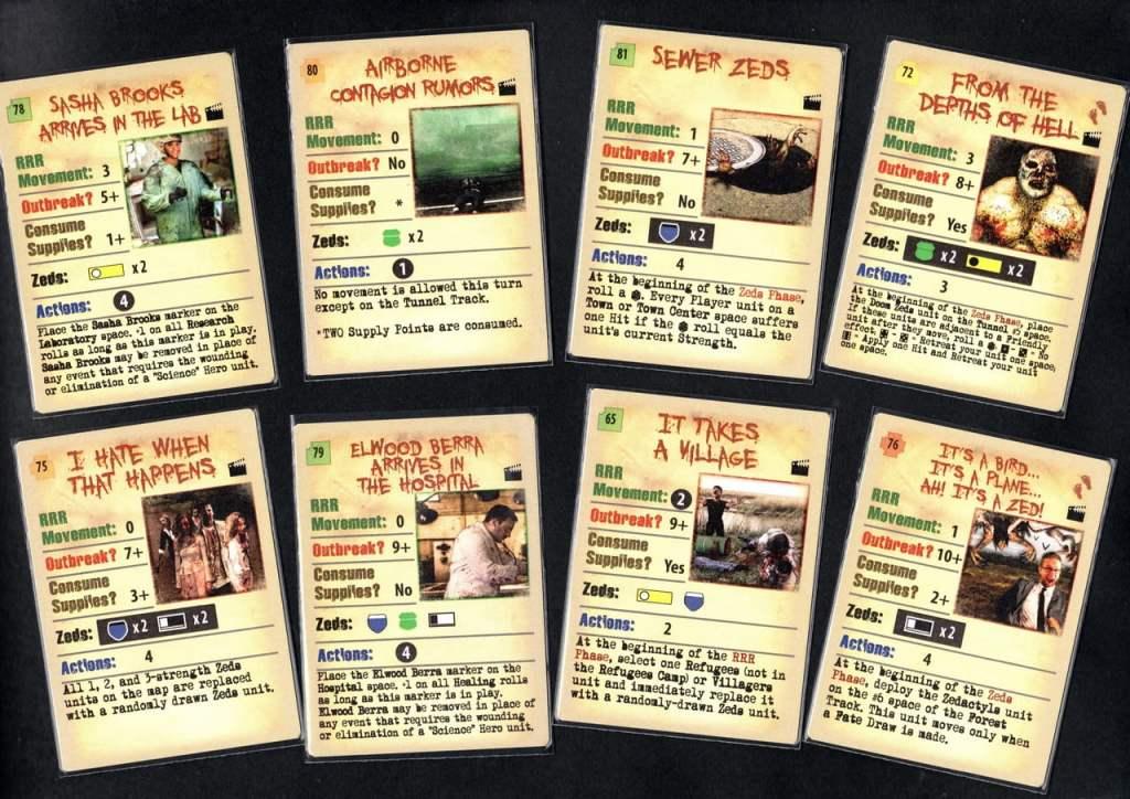 Alcune nuove Event Card.