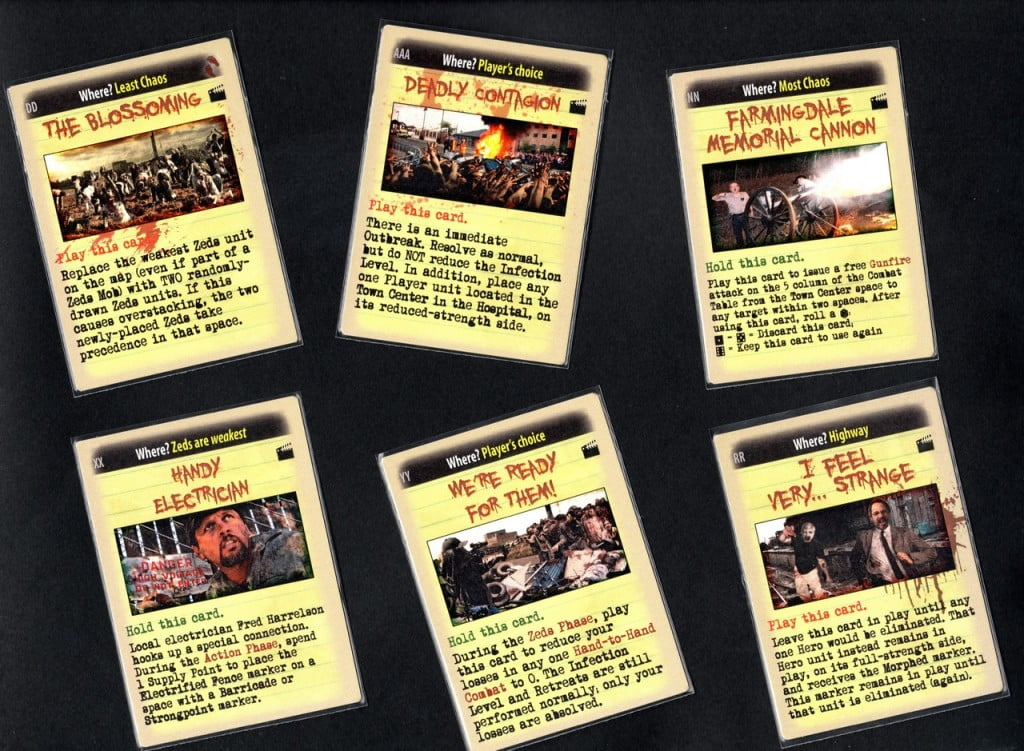 Alcune nuove Fate Card