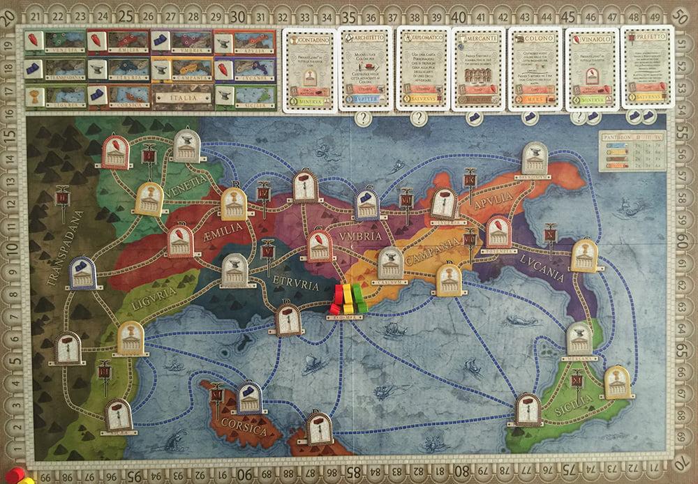 Tutte le strade partono da Roma... (Ora la mappa Italia è pronta per la partita)