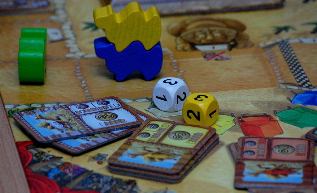 Cammelli in dirittura di arrivo: la durata della partita dipende molto dallo voglia di calcolo dei giocatori.