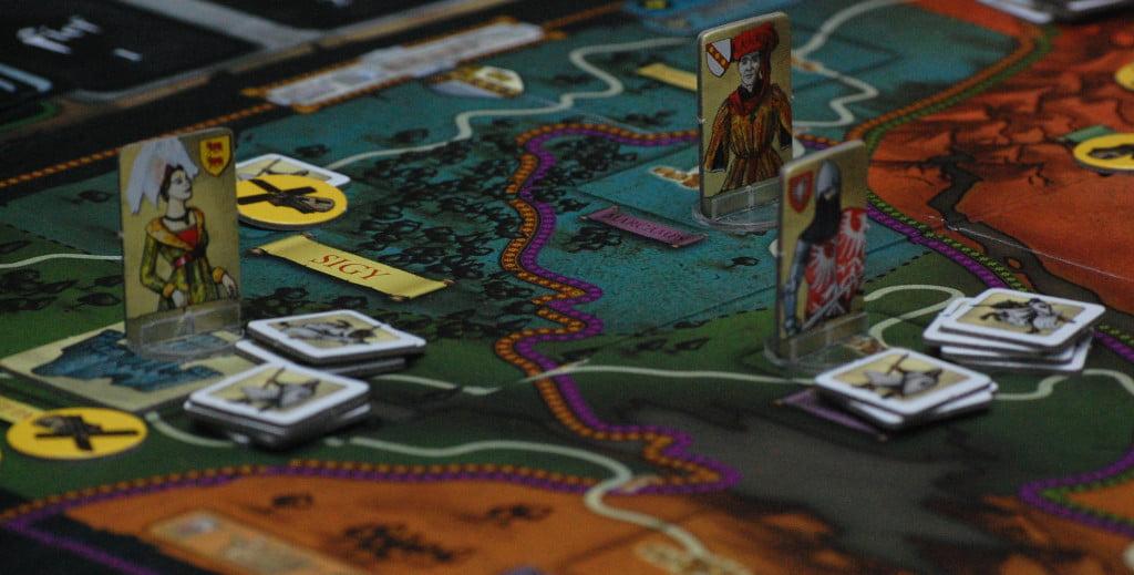 LA mappa prima o poi risulta stretta..ed è tempo di sentire il sordo rumore dei colpi sulle armature.