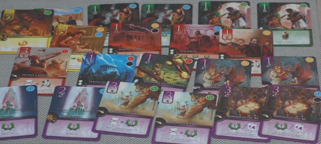 Tutte le carte del gioco