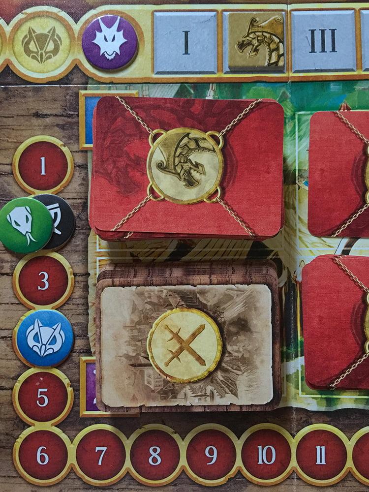Inizia il secondo turno: il Marchio del Gufo è in vantaggio, ma non sottovalutate il potere dell'Occhio della Loggia!