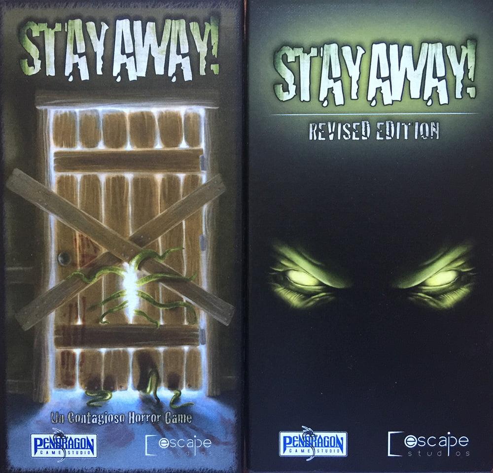 """La copertina della prima edizione (a sinistra) Vs. quella della seconda (a destra), denominata """"Revised Edition""""."""