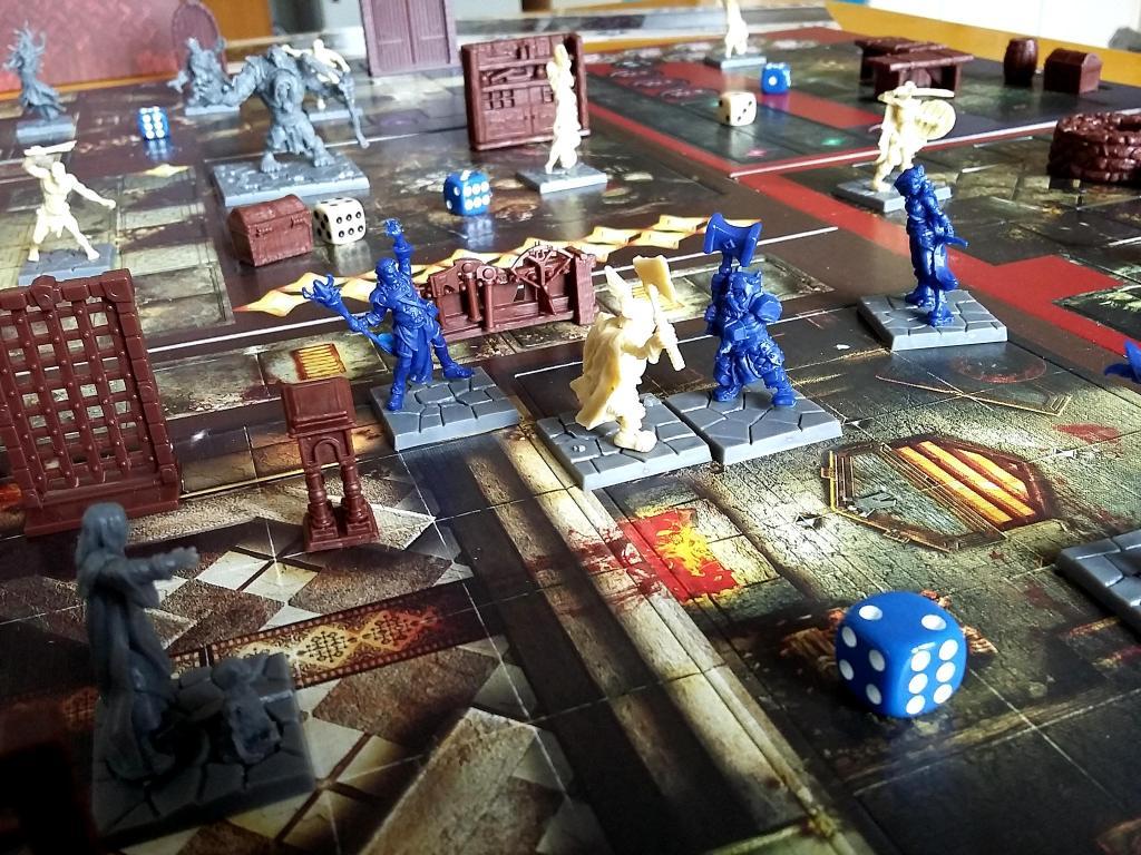 Dungeon Saga: Combattimento in corso