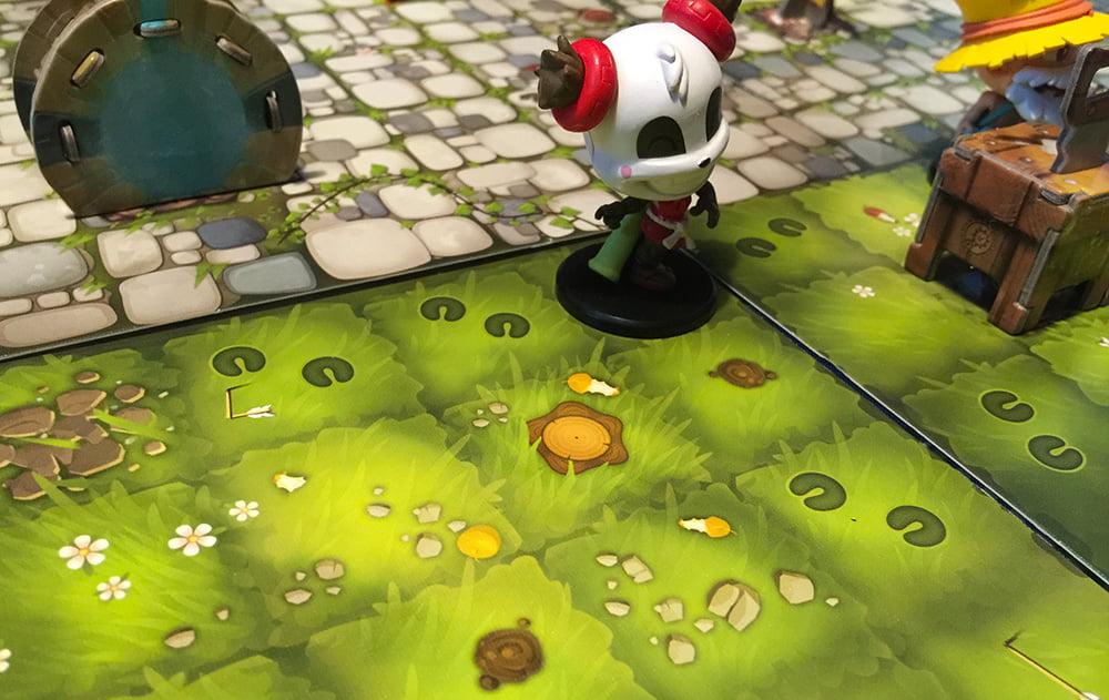 Pandalinda ha già abbattuto l'albero indisturbata (non ha mostri vicini), mentre Devir è impegnato con l'Atelier dell'Artigianato.