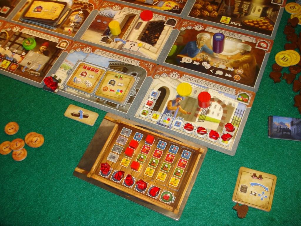 Con un colpo di coda geniale il giocatore rosso si aggiudica il sesto e ultimo rubino al Palazzo del Sultano!