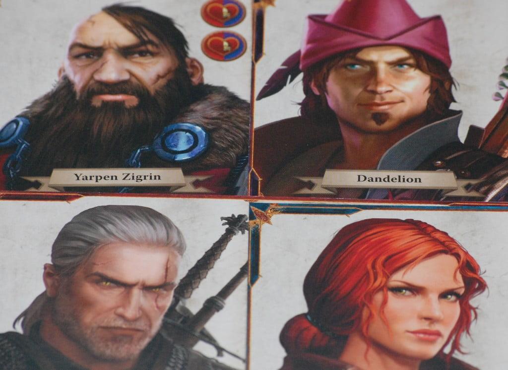 I personaggi giocanti: Guerriero, Bardo, Nano e Mago