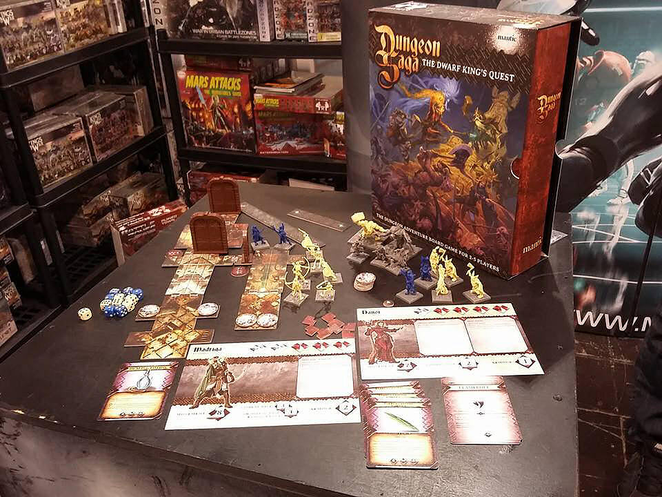 Dungeon Saga - Unboxing
