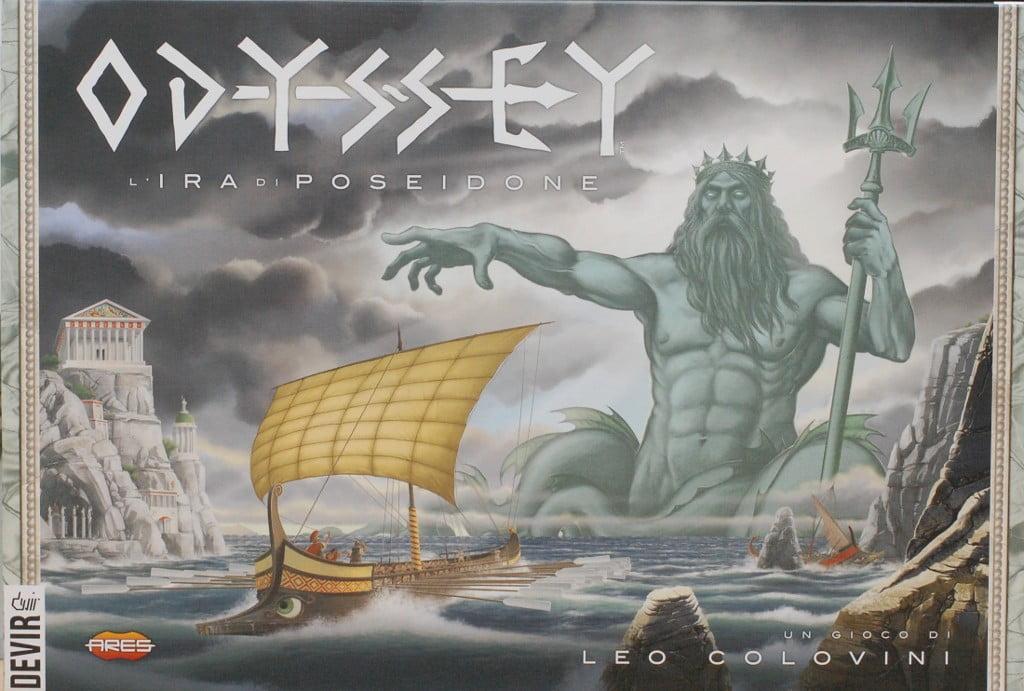 """Odyssey: l'ira di Poseidone: Poche regole e molta deduzione. Originale ma un poco""""vintage"""" anche come esperienza di gioco."""