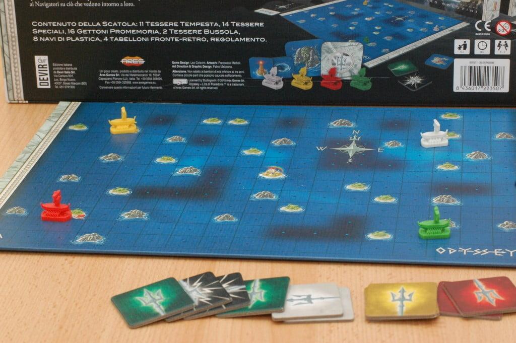 Il lato di Poseidone: questa è la vera posizione delle navi!