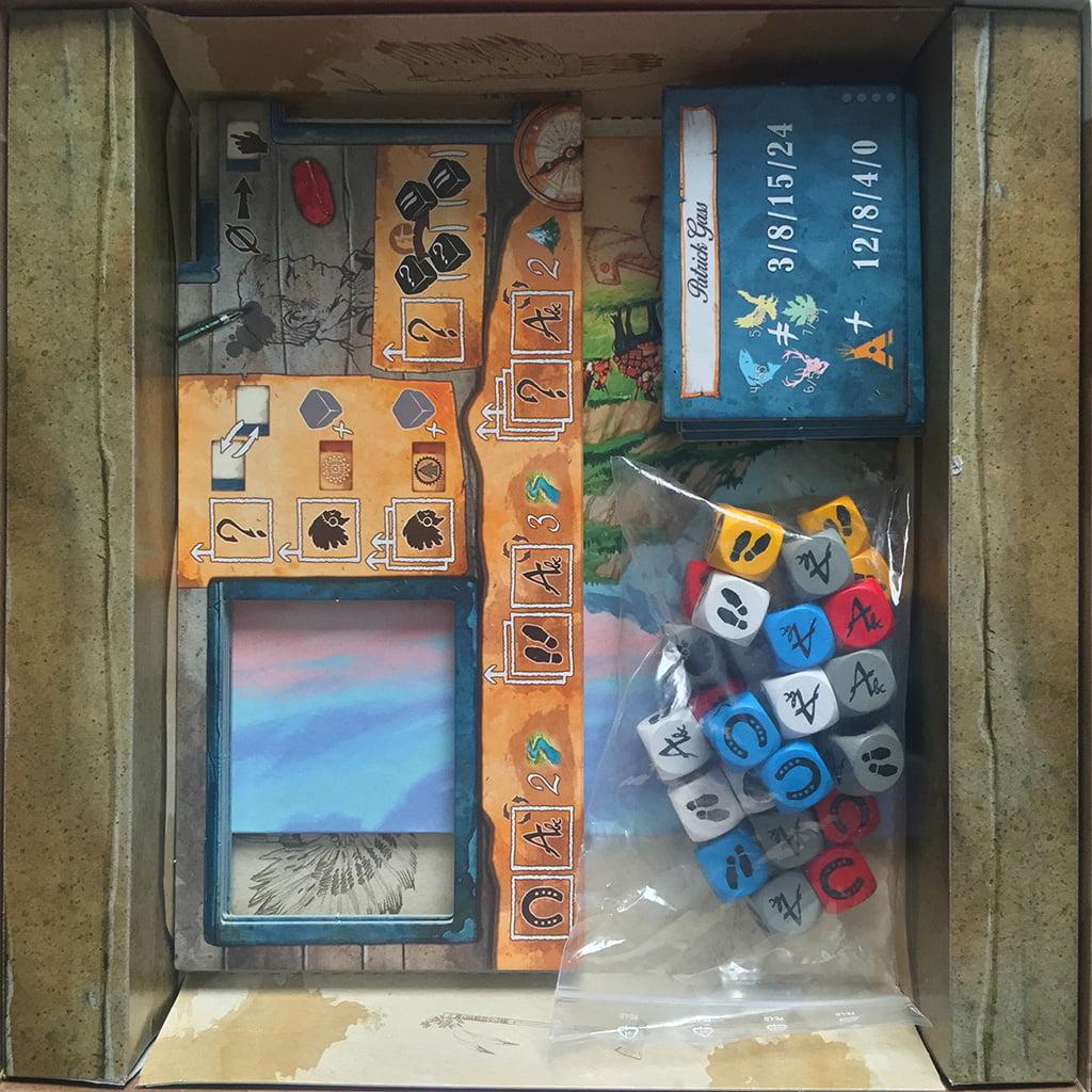 L'interno della scatola: lo spazio è ampio