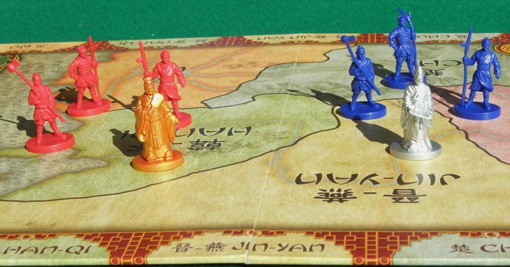 Un esempio delle miniature in gioco