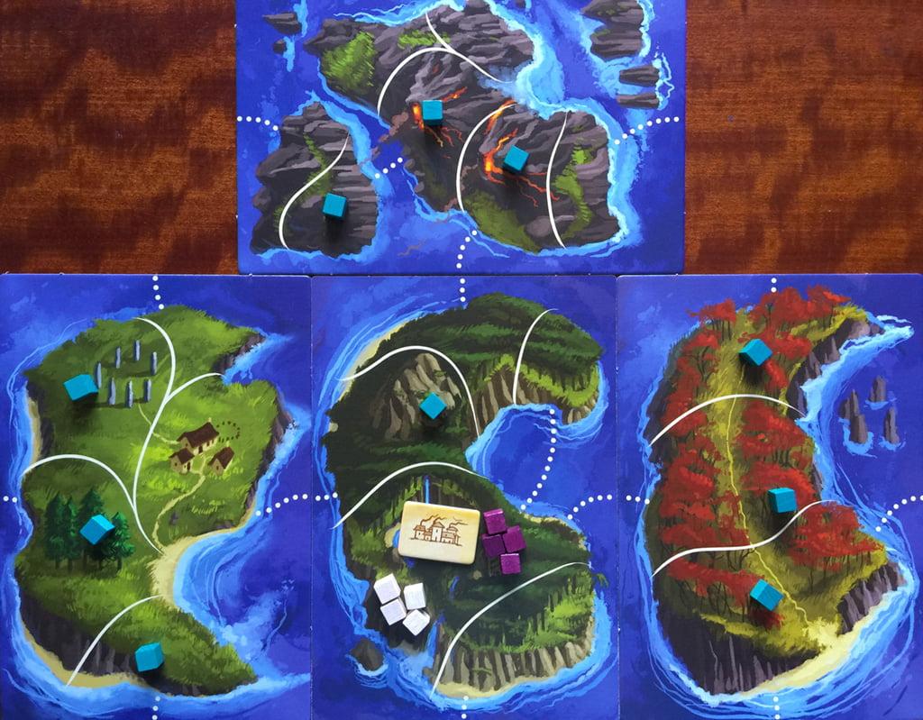 La mappa per 2 giocatori: