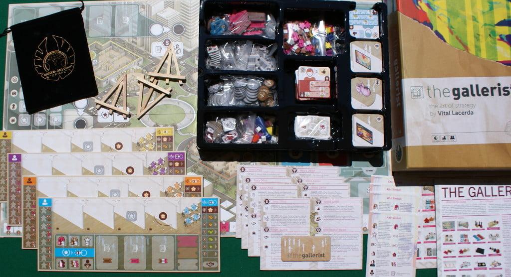 I componenti del gioco