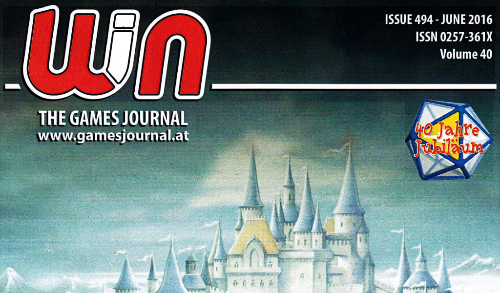 Riviste: WIN – THE GAME JOURNAL n° 494