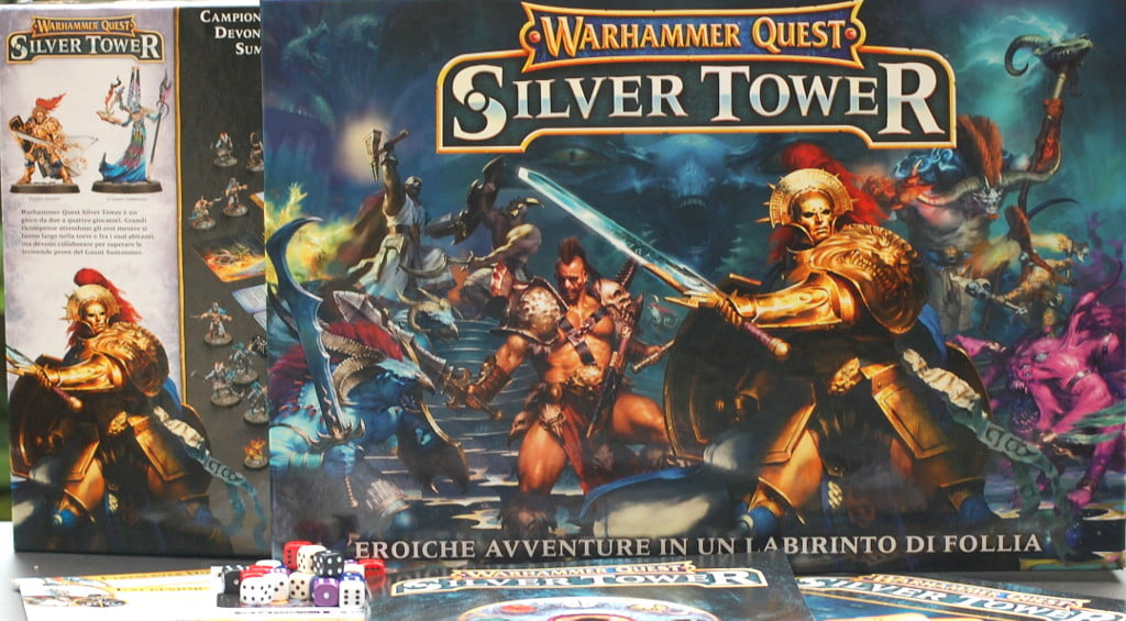 Scatola di WarhammerQuest Silver Tower