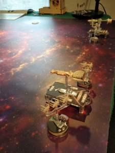 Le navi della ribellione sono molto più piccole ma anche più agili... e gli X-Wing sono nettamente superiori ai caccia TIE