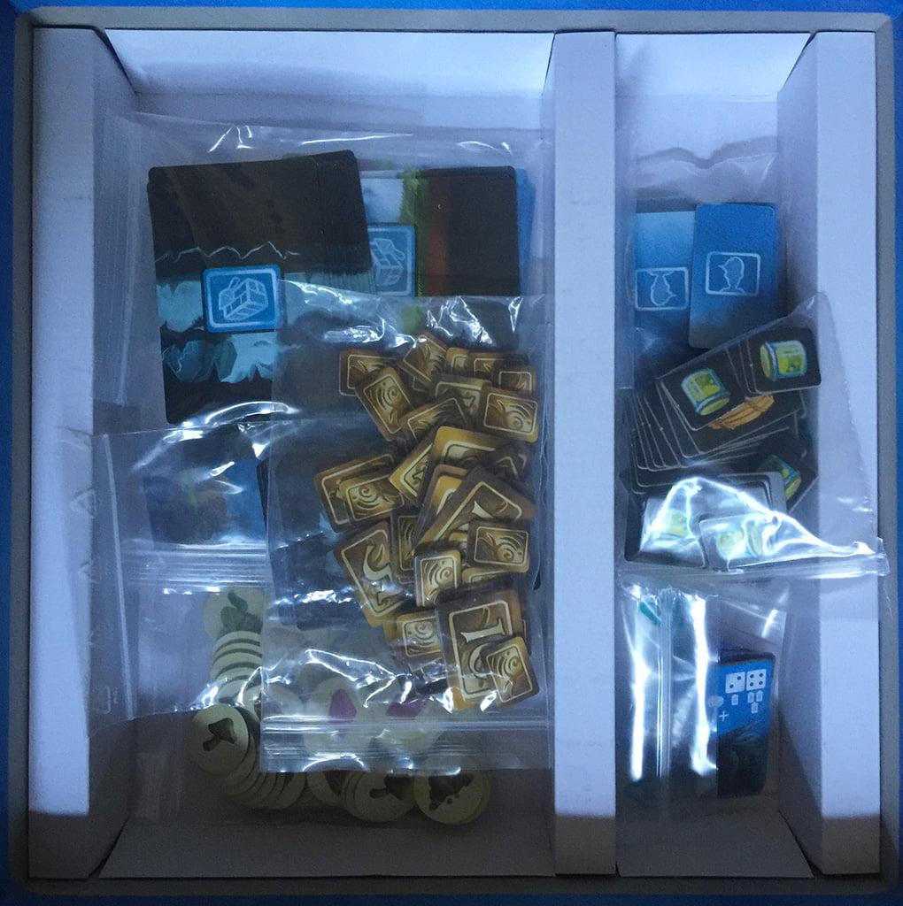 Il contenuto della scatola.