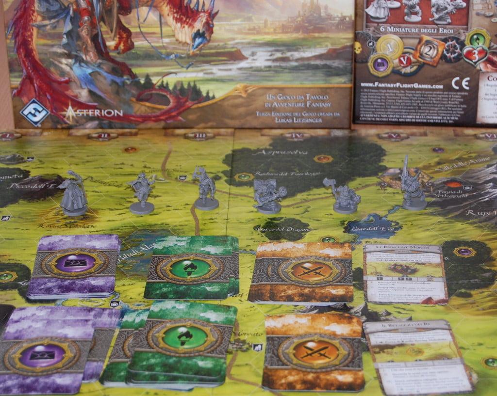 Runebound terza edizione: l'avventura a portata di babbano (e non solo).
