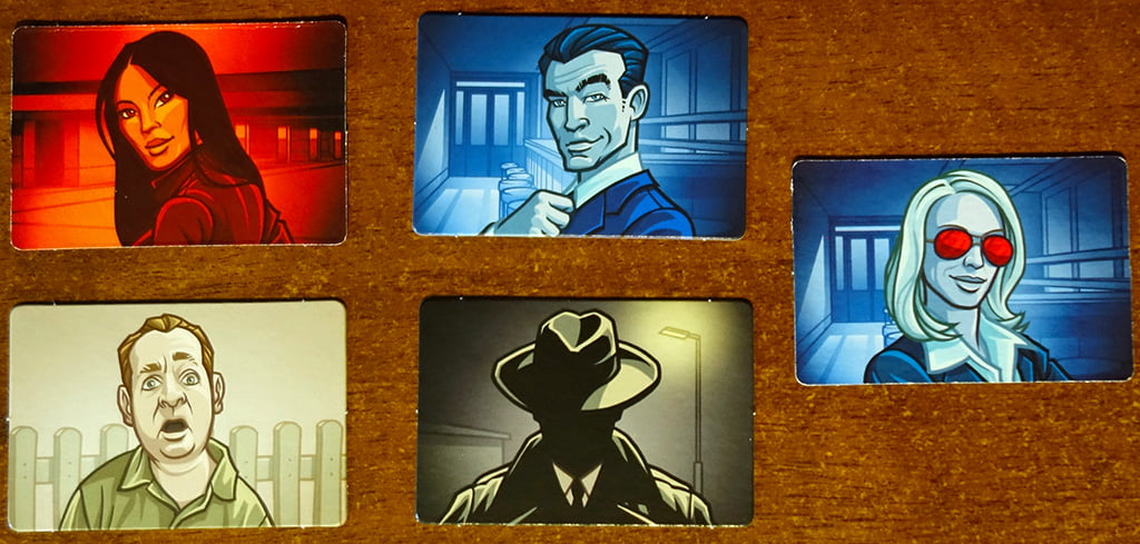 Le 5 diverse tipologie di carte agente: