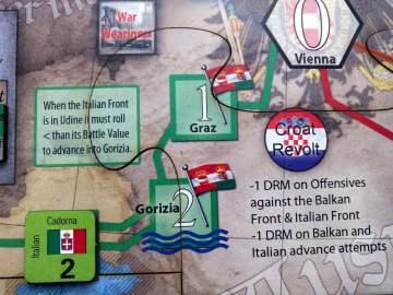 Sarà dura superare l'Isonzo per gli Italiani.