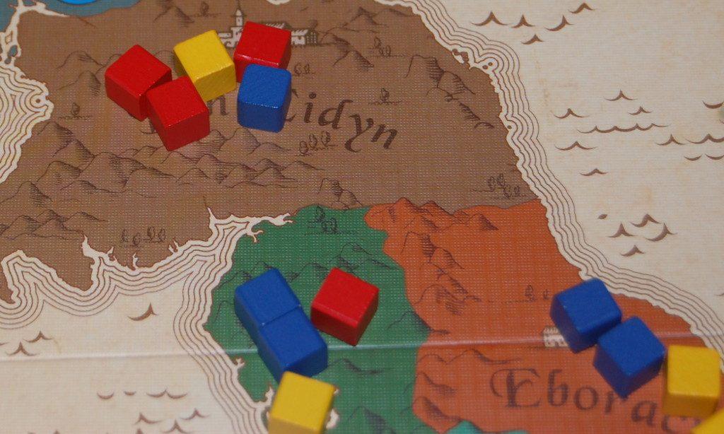 Un'azione di Swirch fra 2 carte regione