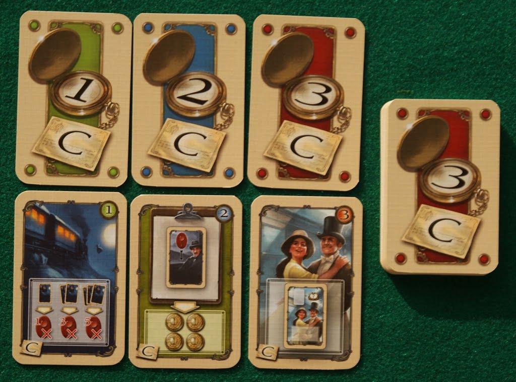 """Alcune carte del modulo """"C"""""""