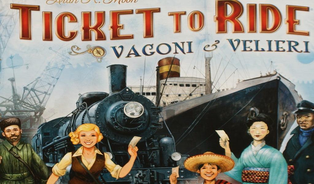 Ticket to Ride Vagoni e Velieri