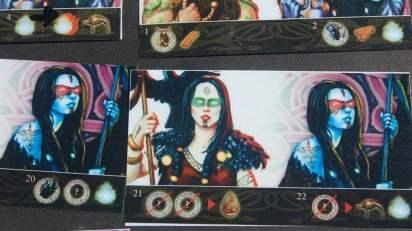 Le icone sulle carte divinità