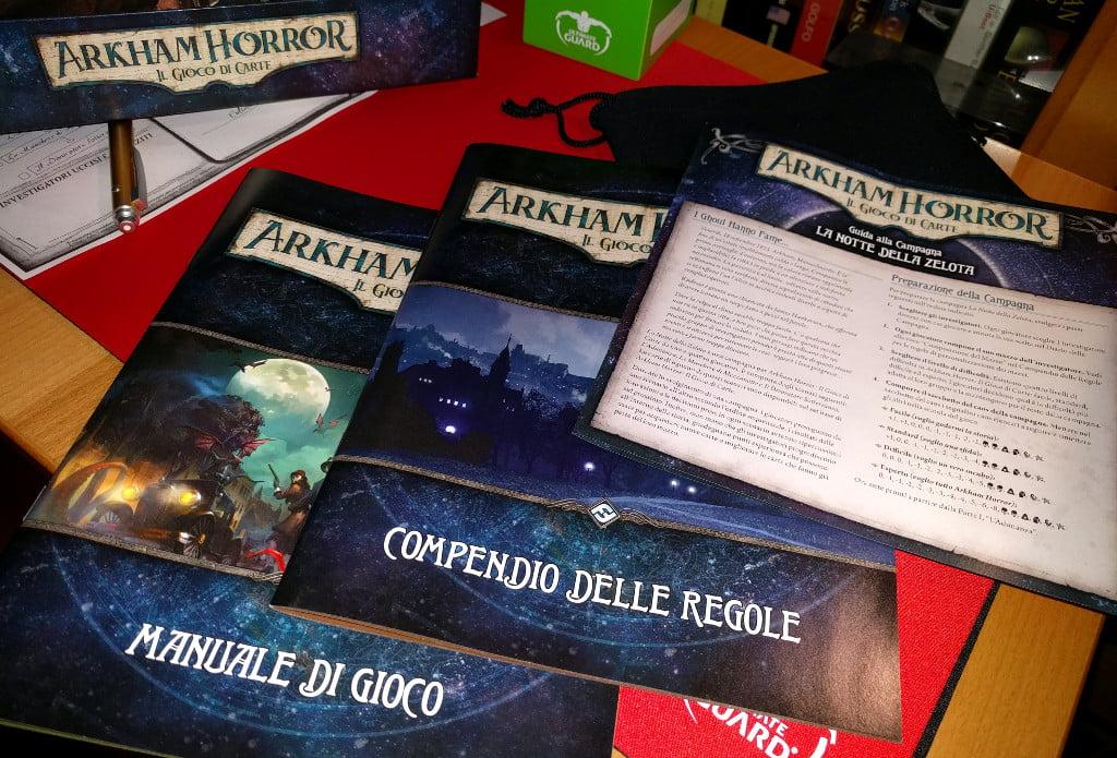 I manuali di gioco