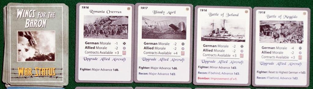 "Carte ""War Status"""