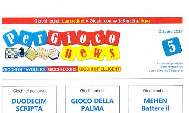 BigCream: PER GIOCO NEWS n° 5