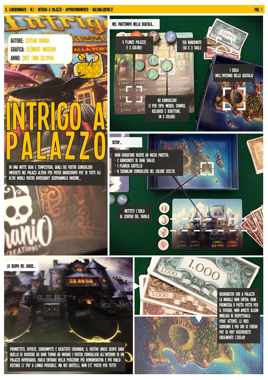 intrigo a palazzo - ludoromanzo pagina 1