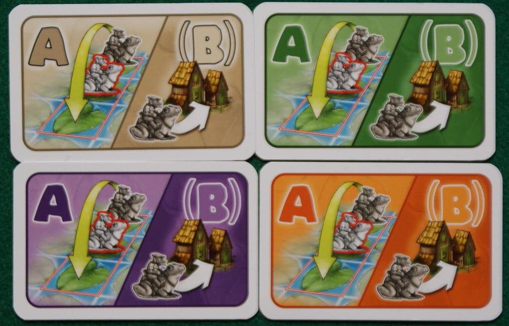 Le carte riassuntive del gioco… ma ce ne era davvero bisogno?