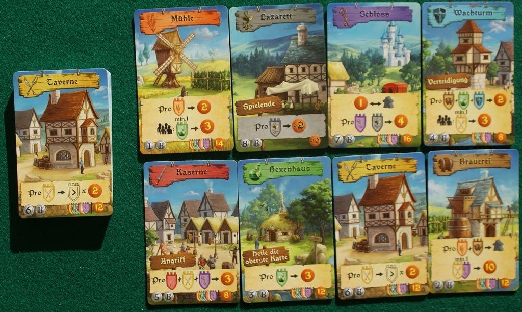 Le carte Edificio