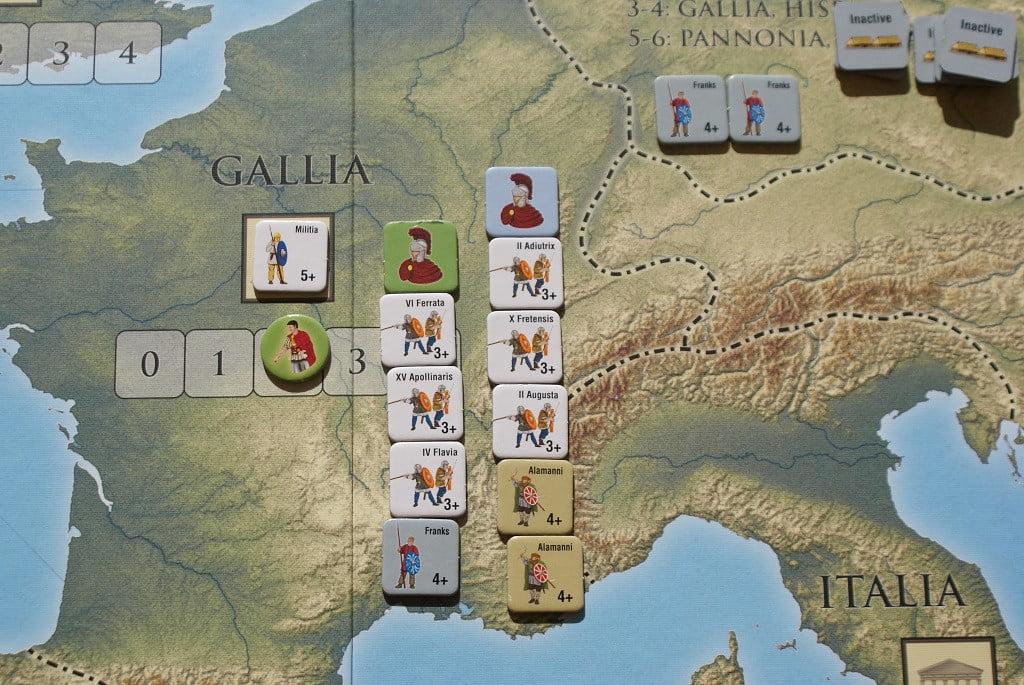 Disputa armata nella Provincia della Gallia