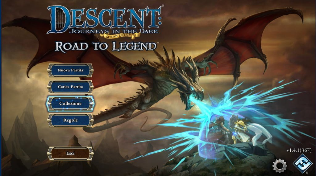 schermata principale