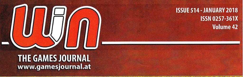 BigCream: WIN – THE GAME JOURNAL n° 514