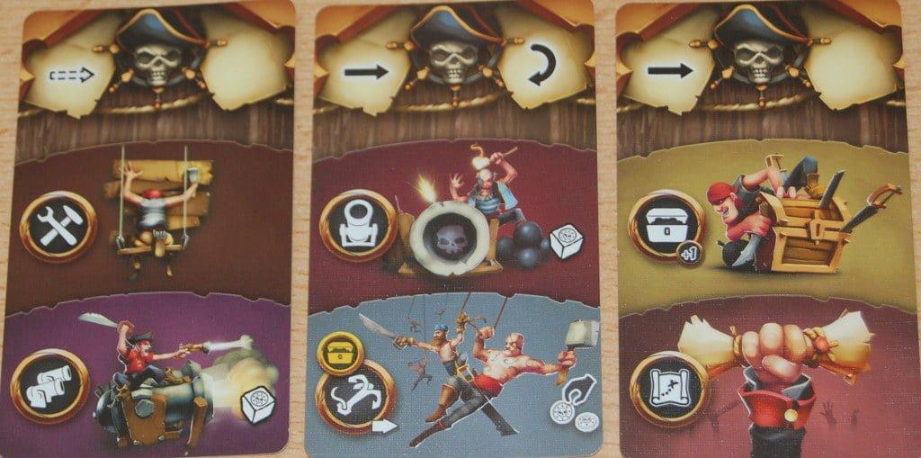 Tre carte azione