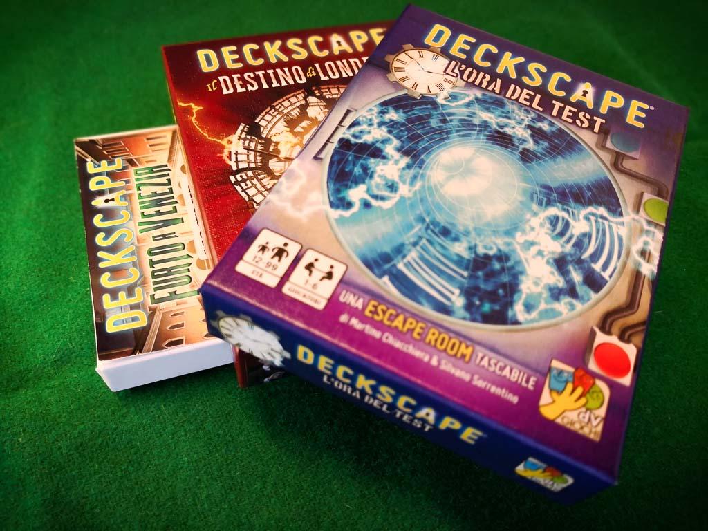 deckscape - furto a venezia