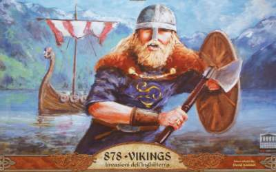 878 Vikings Invasioni dell'Inghilterra