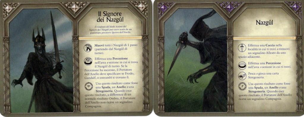 I player aid dei Nazgul