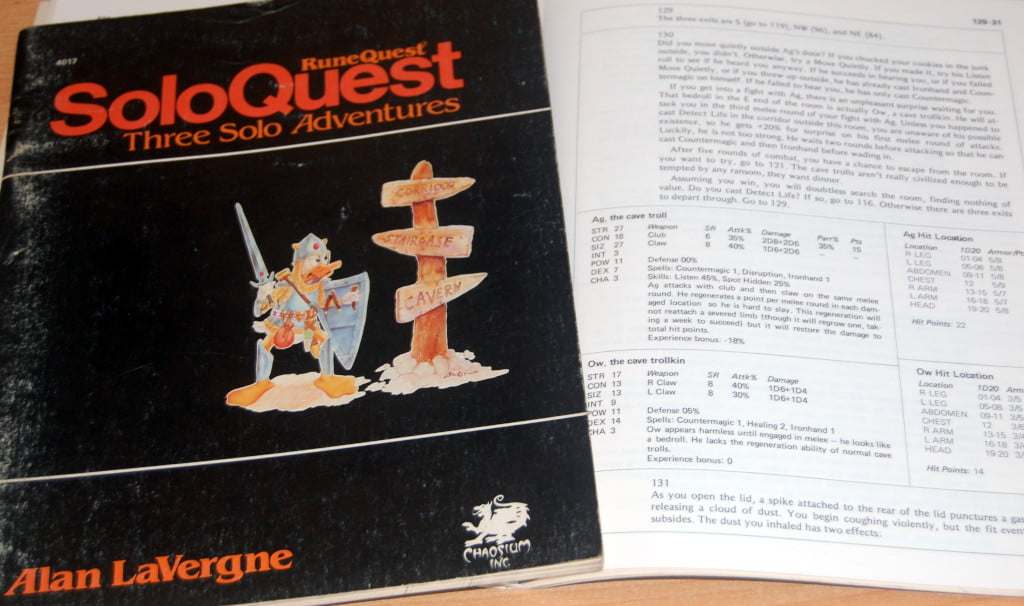 Runequest in solitario