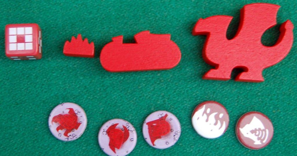 Materiale accessorio per il giocatore Drago