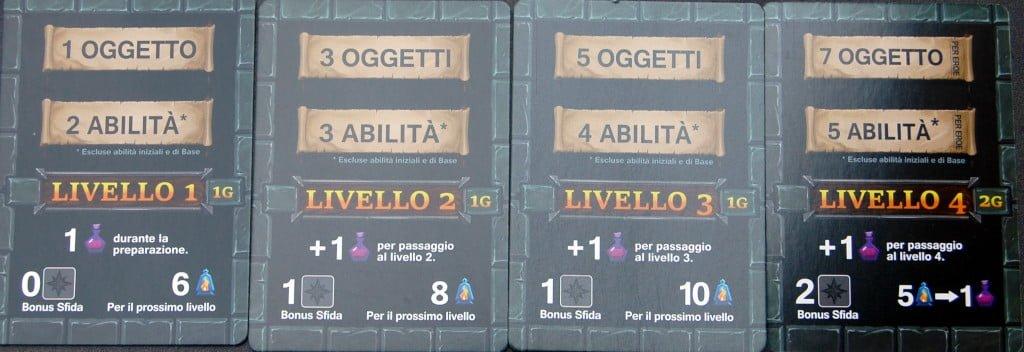 Carte Livello