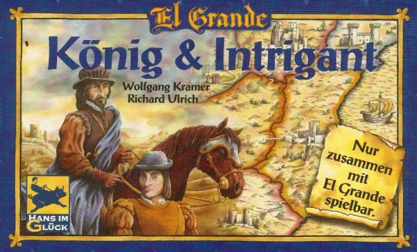 Espansione Intrigue & The King: la scatola…