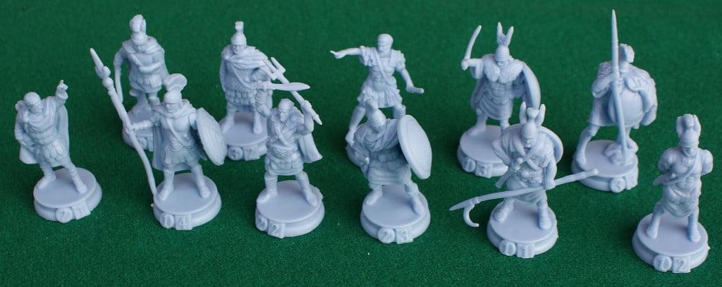 Le miniature dei generali cartaginesi