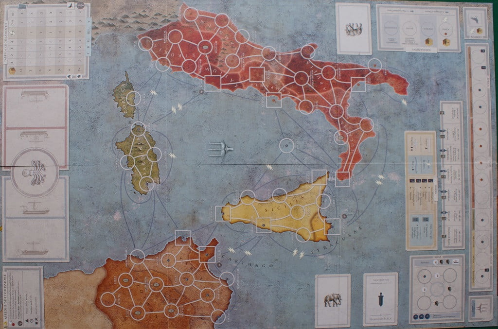 La mappa di Hannibal: Rome vs Carthage